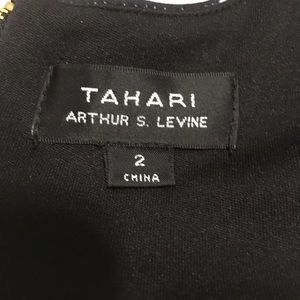 Tahari Dresses - Tahari Black/Multi Color Sleeveless Dress